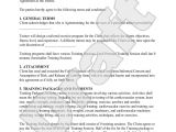 Dog Training Contract Template Personal Trainer forms Personal Training Contract