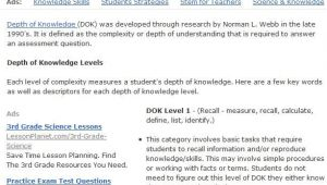 Dok Lesson Plan Template 17 Best Images About Depth Of Knowledge On Pinterest