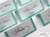 Double Sided Place Card Template Breakfast at Tiffany Place Card Templates Tiffany Blue