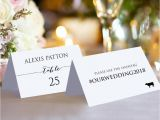 Double Sided Place Card Template Double Sided Place Cards with Meal Icons Wedding