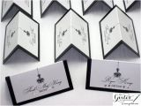 Double Sided Place Card Template Place Card Double Sided Wedding Place Cards Tent Cards Black