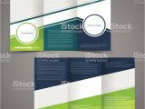 Double Sided Tri Fold Brochure Template Trifold Business Brochure Template Doublesided Design