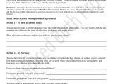 Doula Contract Template Sample Birth Doula Contract Template