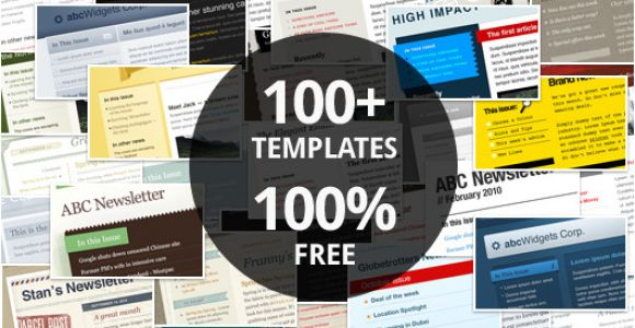 Download Free HTML Email Templates Download 100 Free Email Marketing Templates Campaign Monitor
