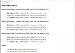 Downloadable Resume Template Free Resume Samples Download Sample Resumes