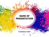 Downloading Powerpoint Templates Download Free Happy Colors Powerpoint Template for