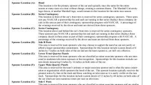 Drag Racing Sponsorship Proposal Template 8 Best Images Of Race Car Sponsorship Proposal Template