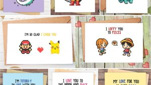 Dragon Ball Z Valentine Cards Anime Valentines Day Cards with Images Pomysa Y