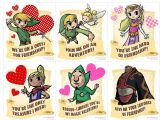 Dragon Ball Z Valentines Day Card Nintendo Launch Gaming Valentine S Cards Funny Valentines