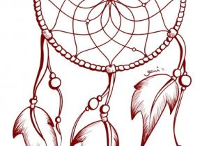 Dream Catcher Tattoo Template Dreamcatcher Tattoo Outline 2