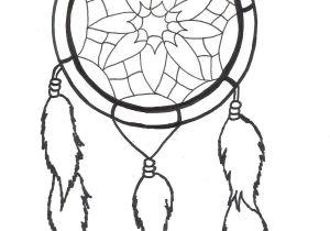 Dream Catcher Tattoo Template Outline Simple Dreamcatcher Tattoo Design