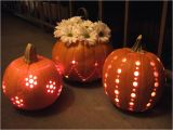Drill Pumpkin Templates Pumpkins Carved with A Drill Crafty Nest