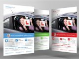 Drinking and Driving Brochure Templates Driving School Flyer Template Flyer Templates On