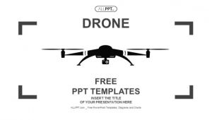 Drone Business Plan Template Powerpoint Templates Free Download Black Image Collections