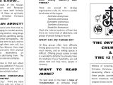 Drug Abuse Brochure Template orthodoxy and Recovery 12 Step Brochure for the Parish
