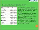 Drupal Template Development Drupal theme Development