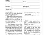 Dubai Tenancy Contract Template Word Rental Agreement format Bravebtr