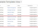Dynamic Data Templates Document Creation In Msd 365 Crm Practice