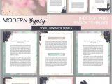 E Magazine Templates Free Download Modern Gypsy Indesign Ebook Template Presentation