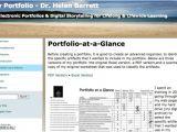 E-portfolio Templates Free Examples Resumes Eportfolios My Ecoach