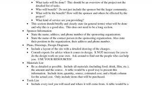 Eagle Scout Proposal Template Eagle Scout Essay
