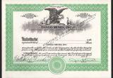 Eagle Stock Certificate Template Blank Stock Certificate Template Portablegasgrillweber Com