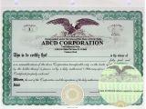 Eagle Stock Certificate Template Stock Certificates Llc Certificates Share Certificates