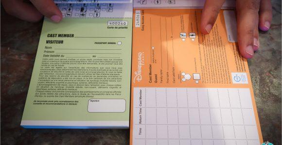 Easy Access Card Disneyland Paris Les Cartes D Accès Facilité Et Priorité à Disneyland Paris
