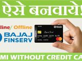Easy Card Kaise Banate Hain Bajaj Finserv Emi Card Apply Online Offline No Cost Emi Eligibility Documents Cvv How to Use