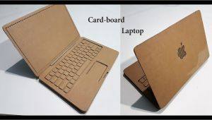 Easy Card Kaise Banate Hain How to Make A Laptop with Cardboard Apple Laptop