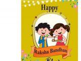 Easy Card Of Raksha Bandhan Happy Raksha Bandhan Bhaiya Greeting Card Love soft Cushion Mug Combo