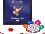 Easy Card Of Raksha Bandhan Indigifts Rakshabandhan Gifts for Brother One In A Million