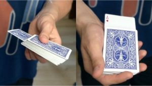 Easy Card Tricks for Kids Rising Card Trick Tutorial Card Tricks Magic Tricks