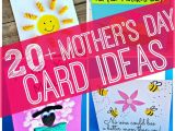 Easy Mothers Day Card Ideas Easy Mother S Day Cards Crafts for Kids to Make Mothers