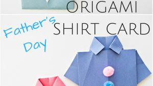 Easy origami Shirt Father S Day Card Easy origami Shirt Father S Day Card Darky Valenta N A Den