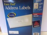 Easy Peel Labels Avery Template 5160 Avery 5160 White Easy Peel Address 1 Quot X 2 5 8 Quot 140 Sheets