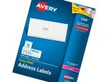 Easy Peel Labels Avery Template 5160 Avery Easy Peel Address Labels for Laser Printers 1 Quot X 2 5