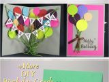 Easy Pop Up Birthday Card 22 Easy Unique and Fun Diy Birthday Cards to Show them