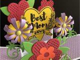 Easy Pop Up Card Flower Amazon Com Mothers Day Card Handmade Card Flower Card