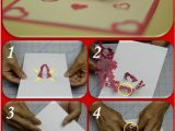Easy Pop Up Card Flower Valentine S Day Pop Up Card Kissing Couple Tutorial
