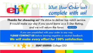 Ebay Feedback Templates Ebay Seller Feedback Template Templates Resume