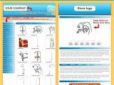 Ebay Product Description Template Ebay Product Description Template In Sky Blue theme 39 99