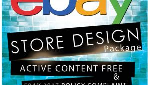 Ebay Storefront Template Ebay Store Design Auction Listing Template Professional