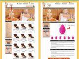 Ebay Storefront Template Ebay Storefront Design Templates Hair Styling theme Ebay