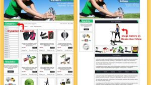 Ebay Storefront Templates Free Custom Ebay Storefront Template Listings Go Green theme