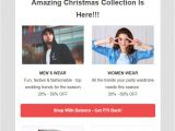 Ecommerce Email Templates Free Download 5 Christmas Email Templates Free Customizable