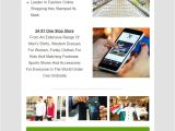 Ecommerce Email Templates Free Download Email Marketing 10 Best E Commerce Email Templates