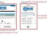 Edit Blogger Mobile Template Cara Menyesuaikan Tampilan Template Blog Agar Mobile