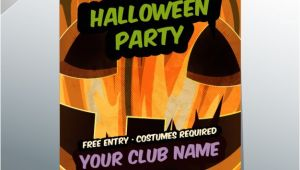 Editable Flyer Templates Download Editable Halloween Party Flyer Template Vector Free Download