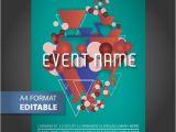 Editable Flyer Templates Download Geometric Editable Poster Template Vector Free Download